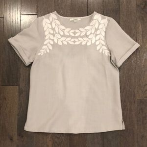 Embroidered Madewell Tee